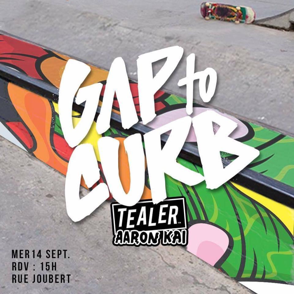 gap to curb tealer