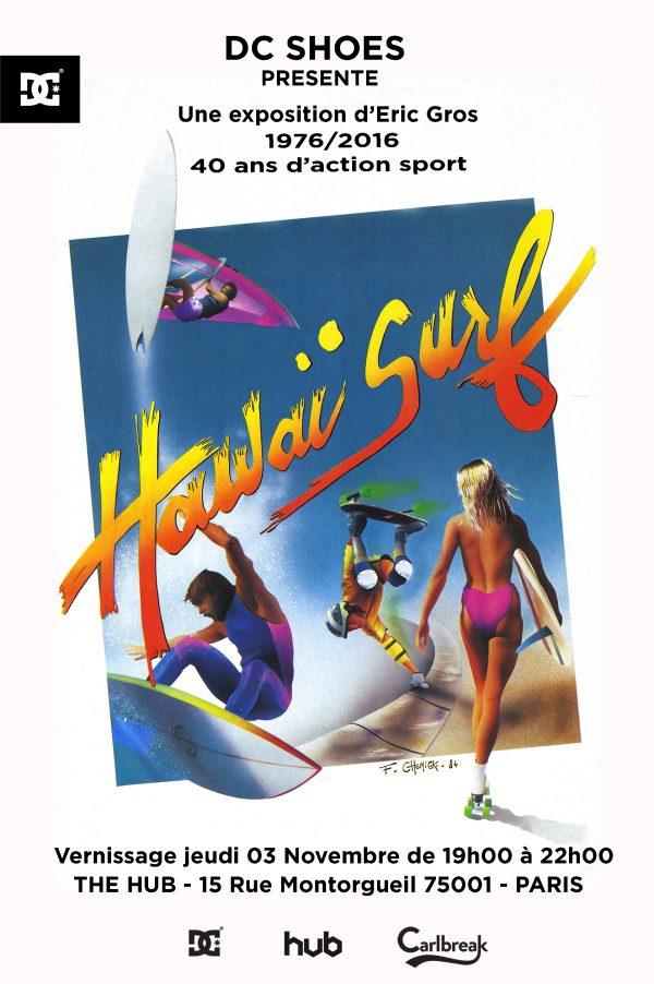 Hawaii surf 40 ans