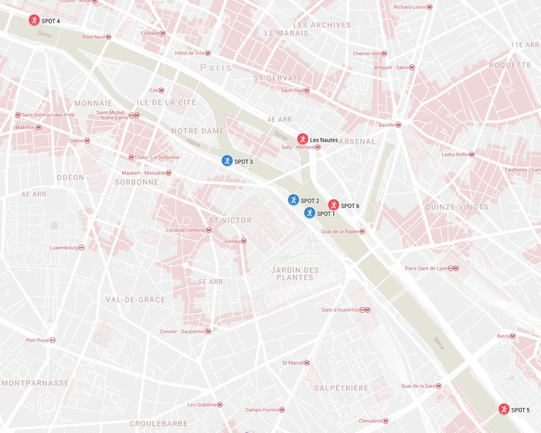 map nike sb