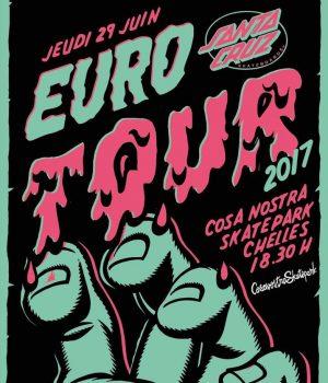 santa cruz euro tour