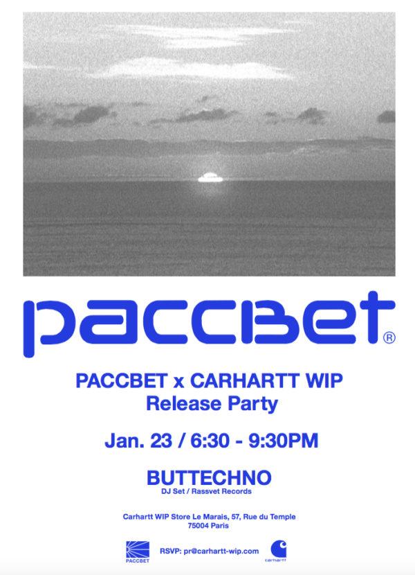 PACCBET x Carhartt WIP _ invite