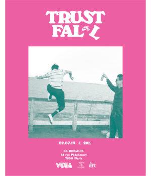 FLYER TRUST FALL - ROSALIE ROSE +