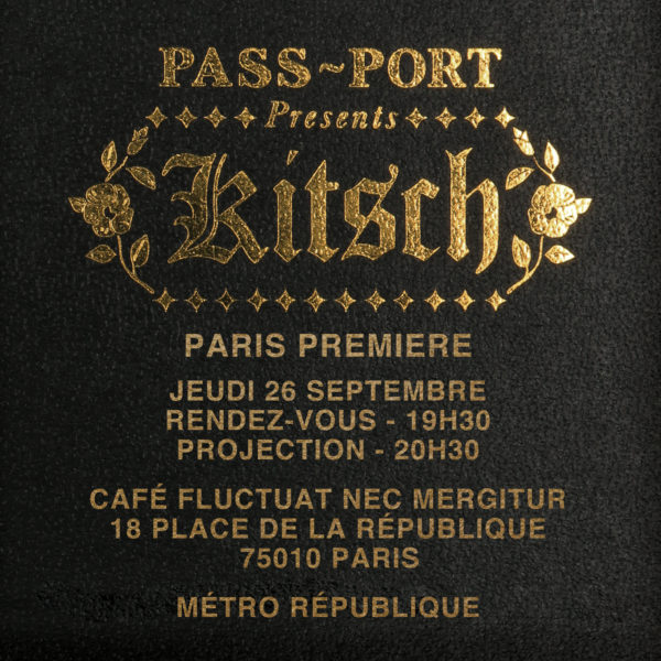 KITSCH VIDEO_PARIS